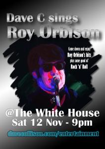 Orbison Gig Poster